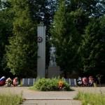 Мемориал в поселке Колюбакино, где похоронен Алексей Сергеевич Зименков